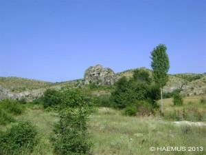 Cocev Kamen and its environment