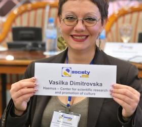 Dimitrovska at e-society 2012