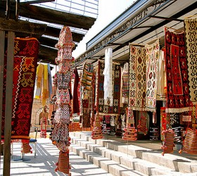 Original ethnological item in the historical part of Skopje known as the OLd Bazaar. photo by Governmetn of the Republic of Macedonia