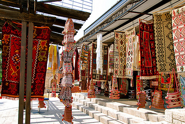 Original ethnological item in the historical part of Skopje known as the OLd Bazaar.photo by Governmetn of the Republic of Macedonia