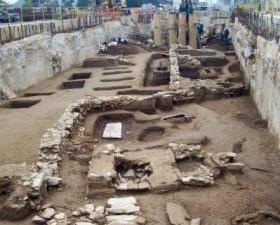 Thessaloniki excavation