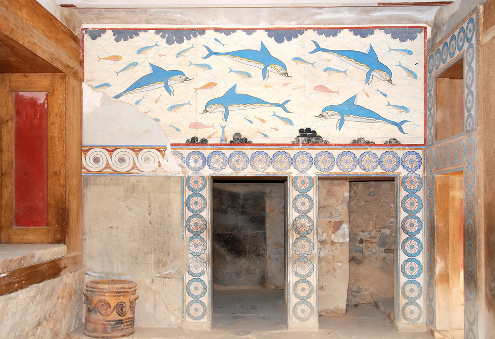 Palace of Knossos - frescos