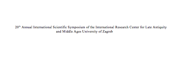Scientific Symposium for Late Antiquity and Middle Ages