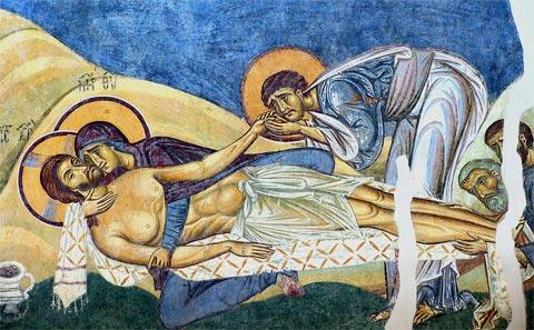 St. Pantelejmon Nerezi Lamentation
