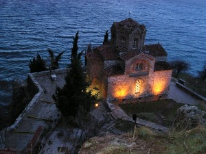 St. John of Kaneo church, by the shores of Ohrid lake