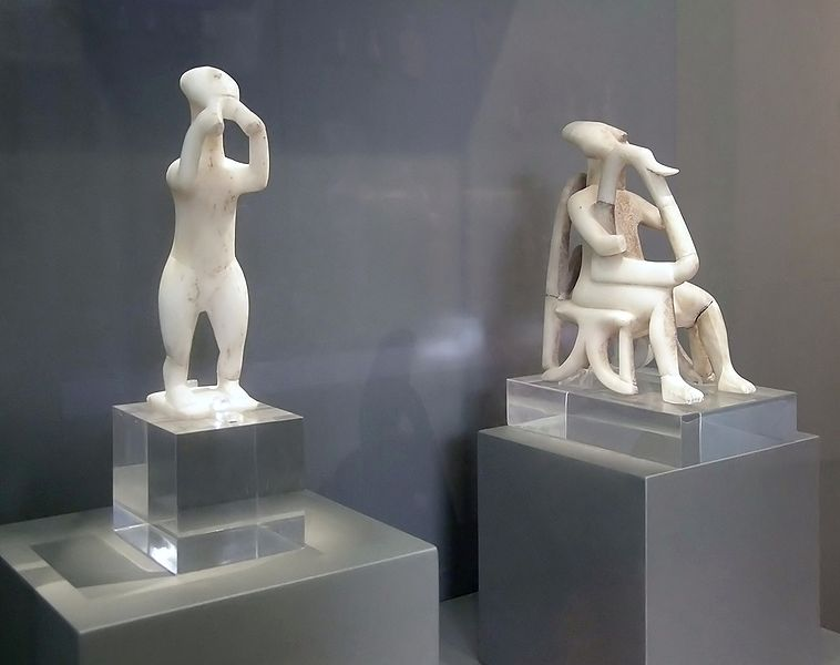 Cycladic figurines