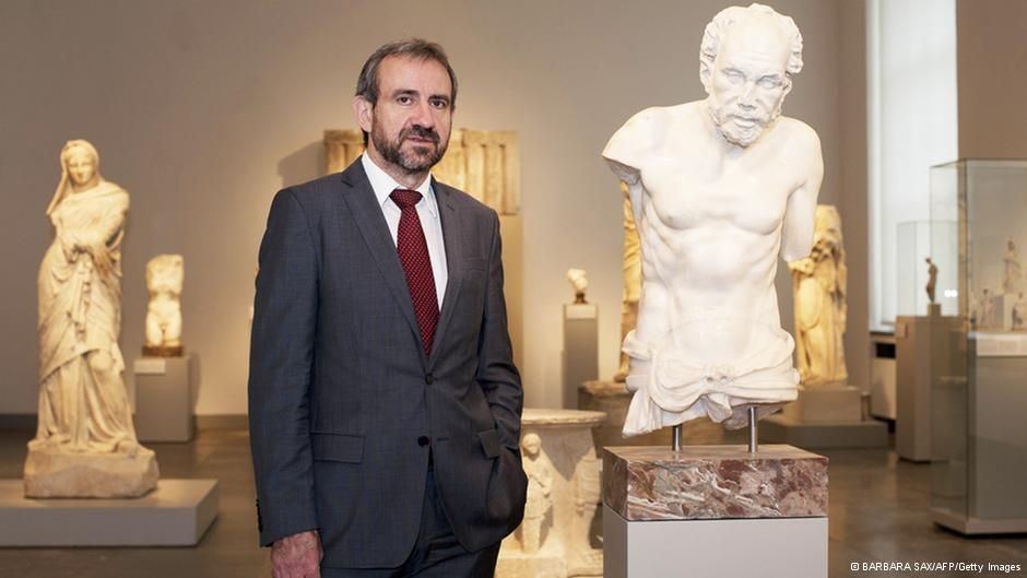 Parzinger says the torso of the Fisherman of Aphrodisias came to Germany legally