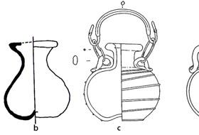 Roman glass vessels from Osijek and Sisak