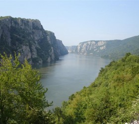 Danube near Iron Gate