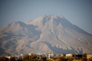 This is the Hasan Dagi volcano. (Credit: Janet C. Harvey)