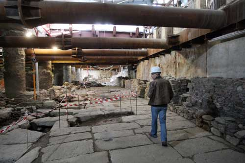 Rescue excavations during construction of Thessaloniki's metro network have revealed significant evidence of the city's urban life from the 4th to 9th centuries.