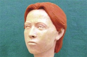 The 1,000-year-old skeleton was restructured and named Maria.