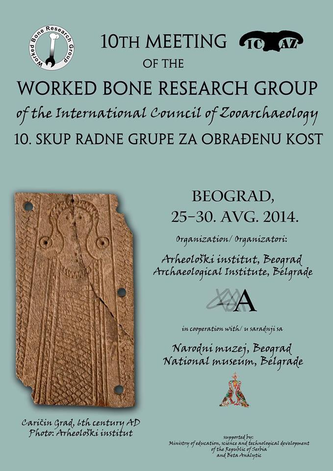 10th Meeting - International Council of Zooarchaeolog