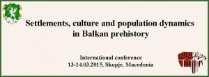 HAEMUS - Prehistoric conference 2015