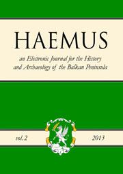 Haemus_Journal_Vol_2_2013_cover