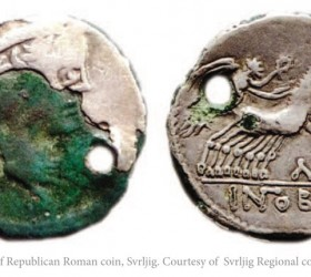 Imatation-of-Republic-Roman-coin-Svrljig