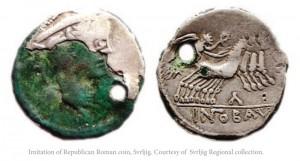 Imatation-of-Republic-Roman-coin-Svrljig