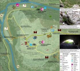 Bislim canyon info board 1