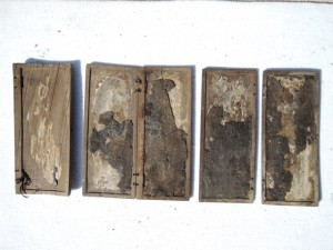 Albania's ivory wax tablets | Photo courtesy of Eduard Shehi